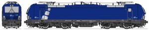 MGW Vectron with rounded squares in silver